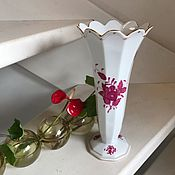 Винтаж handmade. Livemaster - original item Herend vase, porcelain, handmade, Hungary. Handmade.