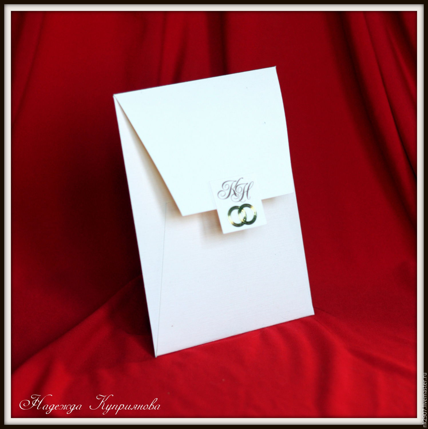 Wedding Invitation Envelope La Boheme Shop Online On Livemaster