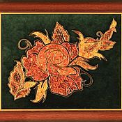 Картины и панно handmade. Livemaster - original item amber picture