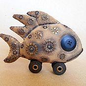 Куклы и игрушки ручной работы. Ярмарка Мастеров - ручная работа Малая Рыба.. Handmade.
