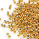 Для украшений ручной работы. Ярмарка Мастеров - ручная работа. Купить Delica DB-31 24k gold 5 гр Золотой японский бисер Делика 24 карата. Handmade.