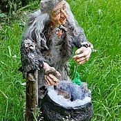 Куклы и пупсы ручной работы. Ярмарка Мастеров - ручная работа Баба Яга.Интерьерная кукла ручной работы. Handmade.