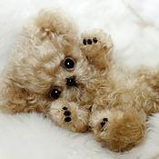 Куклы и игрушки ручной работы. Ярмарка Мастеров - ручная работа Щенок Тедди Голди. Handmade.