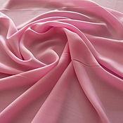 Материалы для творчества handmade. Livemaster - original item Italian fabric dress-brusochka pink. Handmade.