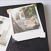 Фотоальбомы ручной работы. Ярмарка Мастеров - ручная работа Уголки для фотографий. Handmade.