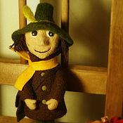 Куклы и игрушки ручной работы. Ярмарка Мастеров - ручная работа Снусмумрик. Игрушка из шерсти. Handmade.