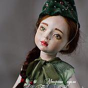Куклы и игрушки ручной работы. Ярмарка Мастеров - ручная работа Елочка, зелёная иголочка. Handmade.