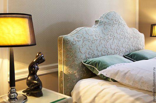 Мебель ручной работы. Ярмарка Мастеров - ручная работа. Купить Кровать Дьюла. Handmade. Голубой, хорошая кровать, фурнитура мебельна