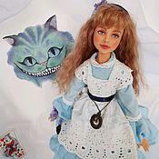 Куклы и пупсы ручной работы. Ярмарка Мастеров - ручная работа Алиса в стране чудес интерьерная кукла. Handmade.
