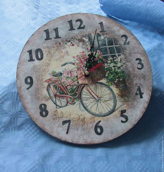 """Часы для дома ручной работы. Ярмарка Мастеров - ручная работа. Купить Настенные часы """"Прованс"""". Handmade. Настенные часы, прованс"""