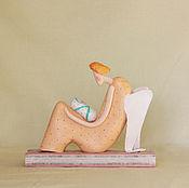 """Для дома и интерьера ручной работы. Ярмарка Мастеров - ручная работа Скульптура """"Мама - мой ангел"""". Handmade."""