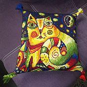 Для дома и интерьера handmade. Livemaster - original item Interior embroidery: Star KOSH :). Handmade.