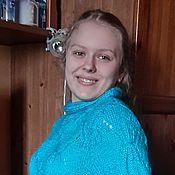 """Одежда ручной работы. Ярмарка Мастеров - ручная работа Пуловер """"Лазурное море"""".. Handmade."""