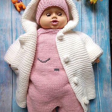 Товары для малышей ручной работы. Ярмарка Мастеров - ручная работа Комплект для малыша. Handmade.