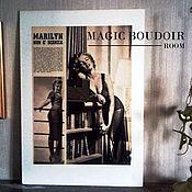 Винтаж ручной работы. Ярмарка Мастеров - ручная работа Фотокартина винтажная, винтажное панно с Мэрилин Монро. Handmade.