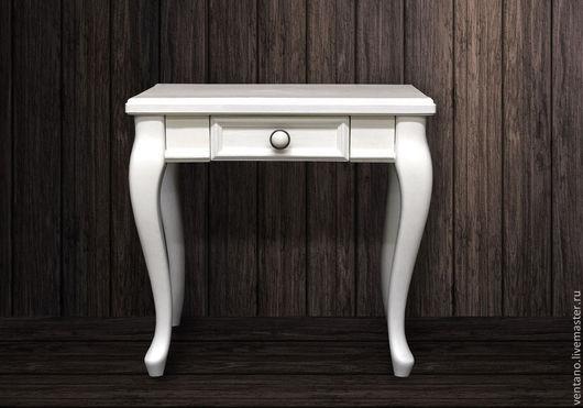 """Мебель ручной работы. Ярмарка Мастеров - ручная работа. Купить Прикроватная тумба """"Классик"""". Handmade. Белый, тумба, прикроватная тумба"""