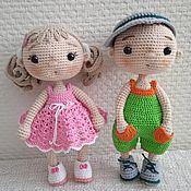 Куклы и игрушки handmade. Livemaster - original item Kids-knitted dolls. Handmade.