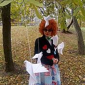 Костюмы ручной работы. Ярмарка Мастеров - ручная работа Костюмы: Костюм клоунессы. Handmade.