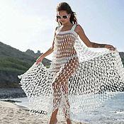Одежда детская handmade. Livemaster - original item SUNDRESSES-NETS FOR THE BEACH (HOOK). Handmade.