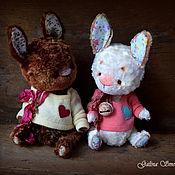 Куклы и игрушки ручной работы. Ярмарка Мастеров - ручная работа Братцы-кролики.. Handmade.