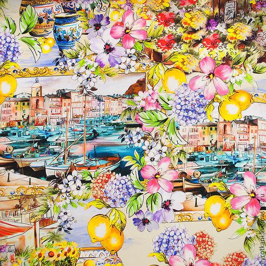 Шитье ручной работы. Ярмарка Мастеров - ручная работа. Купить Шелк Dolce&Gabbana .2016. Handmade. Коллекционный, именная ткань, красота