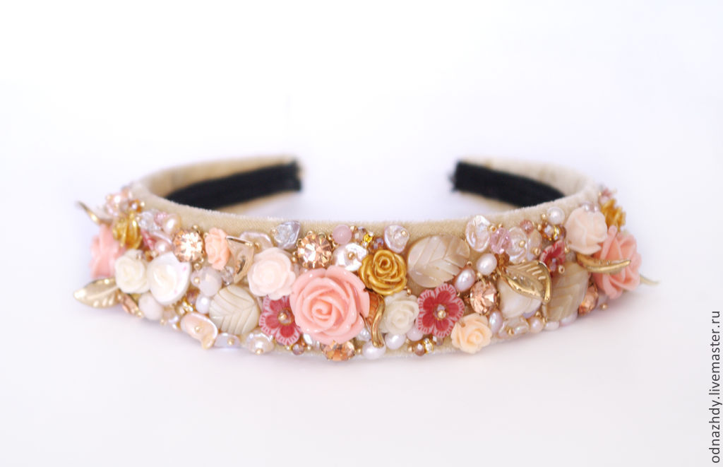 Bezel 'Caramelle' in the style of D&G, Headband, Moscow,  Фото №1