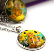 Украшения handmade. Livemaster - original item The Van Gogh Pendant
