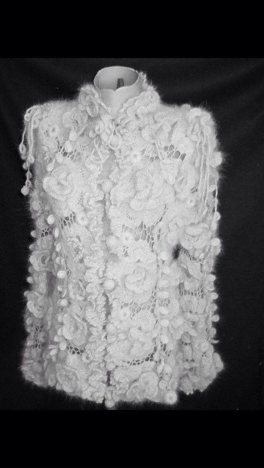 """Пиджаки, жакеты ручной работы. Ярмарка Мастеров - ручная работа. Купить Жакет вязаный """" Роскошь """". Handmade. Жакет"""