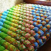 """Для дома и интерьера ручной работы. Ярмарка Мастеров - ручная работа Лоскутное одеяло """"Лето красное"""". Handmade."""