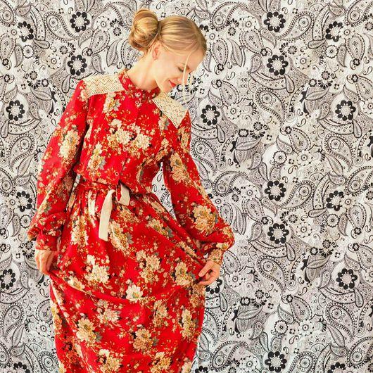 """Платья ручной работы. Ярмарка Мастеров - ручная работа. Купить Женское льняное платье,, Летний вечер"""". Handmade."""
