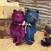 Куклы и игрушки ручной работы. Ярмарка Мастеров - ручная работа Шелковый мишка. Handmade.