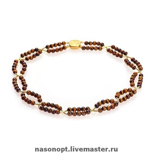 Ожерелье Тигровый глаз Nasonopt