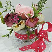 Цветы и флористика ручной работы. Ярмарка Мастеров - ручная работа Велосипед декоративный с цветами. Handmade.