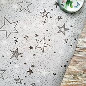 """Бумага ручной работы. Ярмарка Мастеров - ручная работа Крафт-бумага """"Звезды"""". Handmade."""