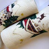 """Обувь ручной работы. Ярмарка Мастеров - ручная работа Валенки  """"Зима"""". Handmade."""
