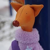 Куклы и игрушки ручной работы. Ярмарка Мастеров - ручная работа лис Михей. Handmade.