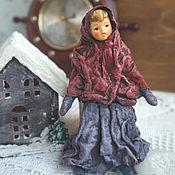 Куклы и игрушки handmade. Livemaster - original item Copy of Copy of Cotton Batting Christmas Ornament. Handmade.