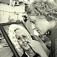 Люди, ручной работы. Портрет из шерсти Дама. Диана Грант (zumzum-latvija). Ярмарка Мастеров. Портрет по фотографии, картина из шерсти