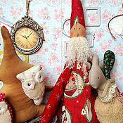 Куклы и игрушки handmade. Livemaster - original item Tilda Santa Jonatan. Handmade.