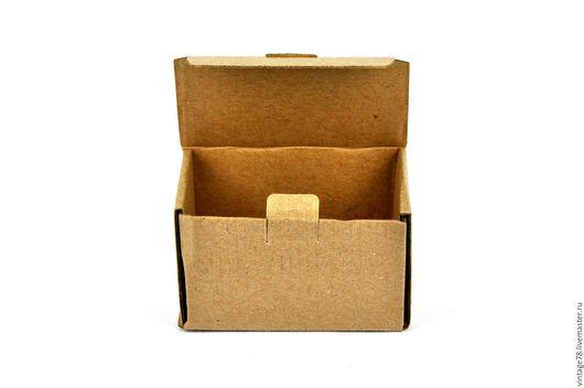 Упаковка ручной работы. Ярмарка Мастеров - ручная работа. Купить Коробка самосборная  из микрогофрокартона. Handmade. Коричневый, упаковка ЭКО