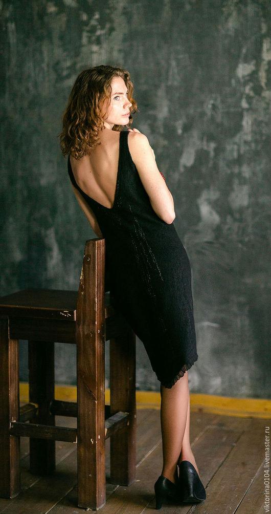 """Платья ручной работы. Ярмарка Мастеров - ручная работа. Купить Платье """"Маленькое черное 5"""". Handmade. Черный"""