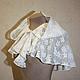 Wedding drape of white