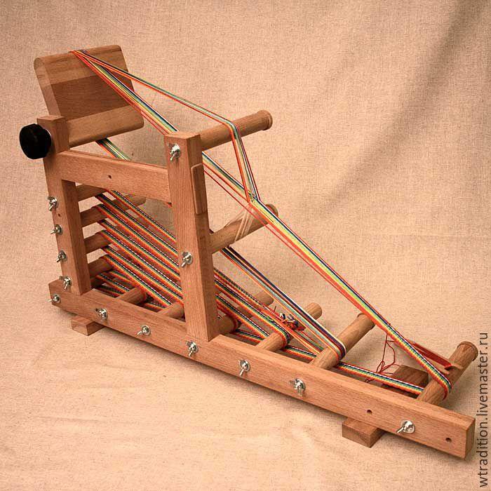 Станок  для плетения поясов