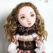 Куклы и игрушки handmade. Livemaster - original item Isabella, author`s textile doll jointed, Interior, OOAK. Handmade.