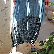 Одежда ручной работы. Ярмарка Мастеров - ручная работа Юбка-брюки из лайкры. Handmade.