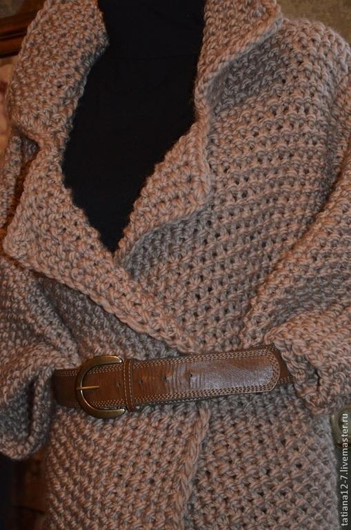 """Верхняя одежда ручной работы. Ярмарка Мастеров - ручная работа. Купить """"A Paris"""" пальто ручной работы. Handmade. Бежевый"""
