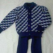 Работы для детей, ручной работы. Ярмарка Мастеров - ручная работа Детский костюм: жакет и рейтузы. Handmade.