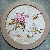 Картины и панно handmade. Livemaster - original item Wall painting-mural