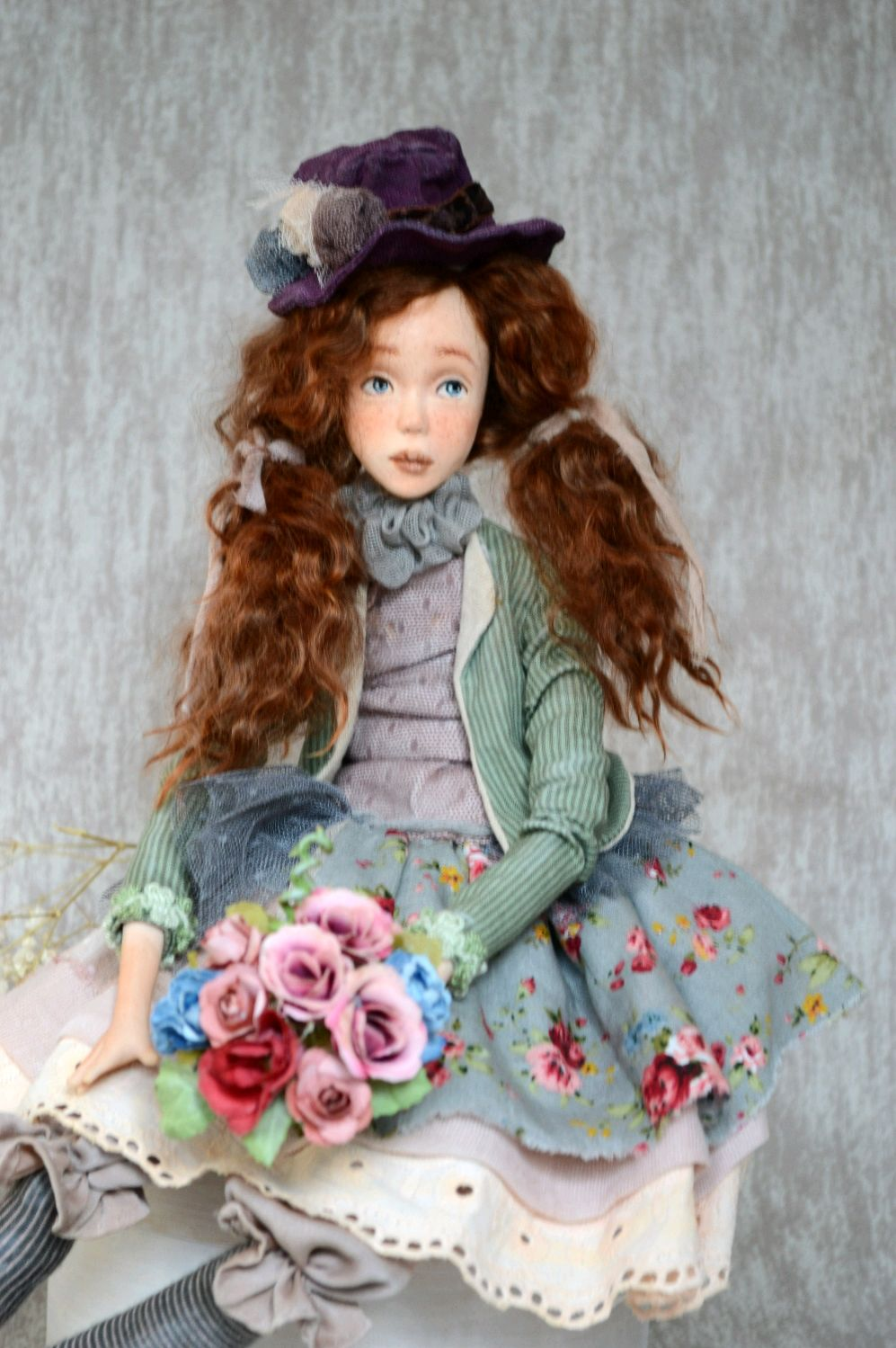 Art Doll BERTA, Boudoir doll, Ekaterinburg,  Фото №1