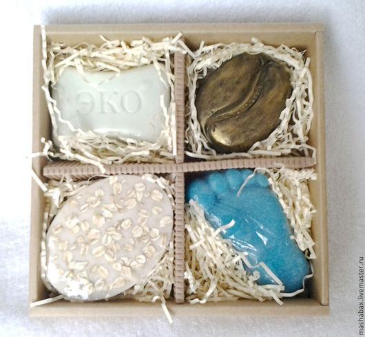 Подарочные наборы косметики ручной работы. Ярмарка Мастеров - ручная работа. Купить Мыло Подарочный набор для тела. Handmade. Разноцветный
